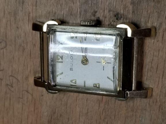 1955 Bulova Warwick watch