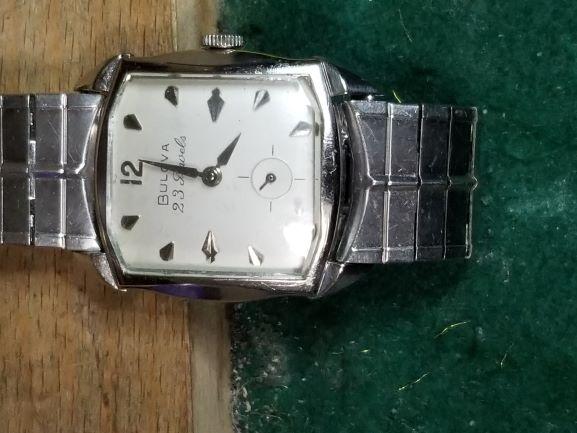 1960 Bulova President R watch