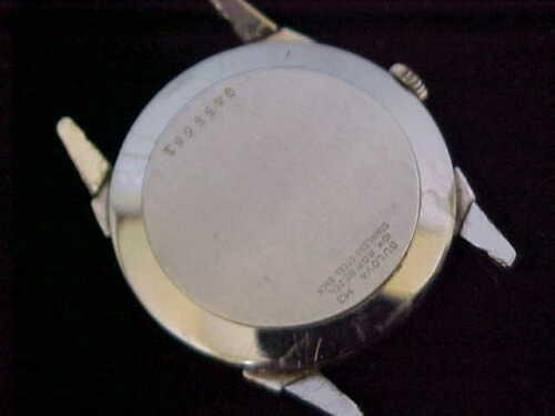 1963] Bulova watch
