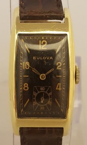 1938 Bulova Minute man D watch