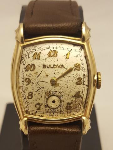1949 Bulova Banker watch