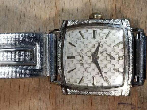1965 Bulova Engineer H watch