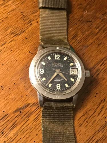1968 Bulova Snorkel H watch