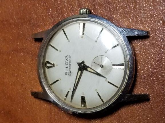 1968 Bulova Surf King watch