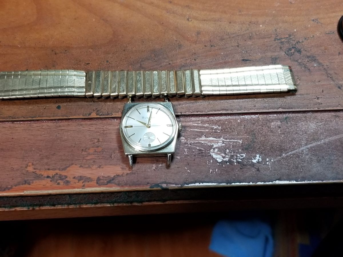 1969 Bulova Banker G watch