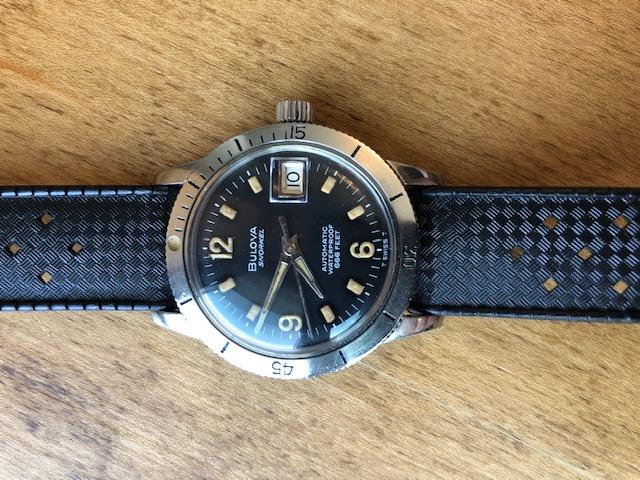 1967 Bulova Snorkel F watch