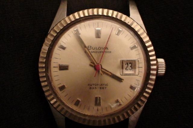 71' Bulova Oceanographer Automatic 333 03-03-2014