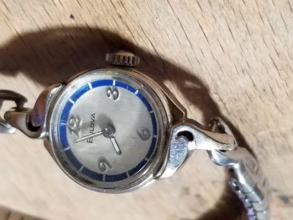 1972 Bulova Nocturn watch