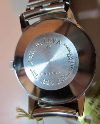 1968 Bulova watch