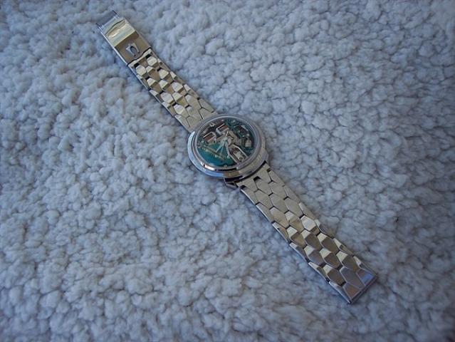 1962 Spaceview Bulova watch