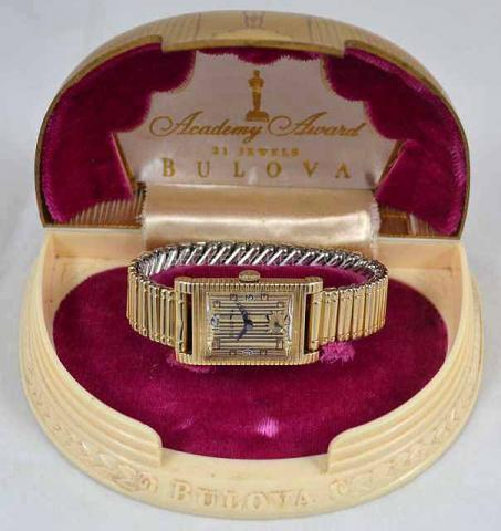 Geoffrey Baker 1950 Bulova  Academy  Award  Watch 11 21 2013