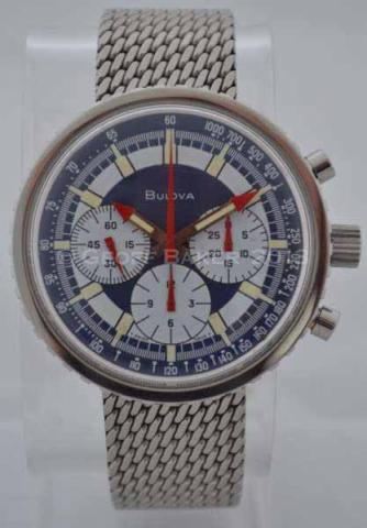Geoffrey Baker 1970 Bulova Chrongraph C watch 11 2 2013