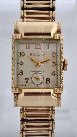 Geoffrey Baker 1950 Bulova Marlboro Watch 12 1  2013
