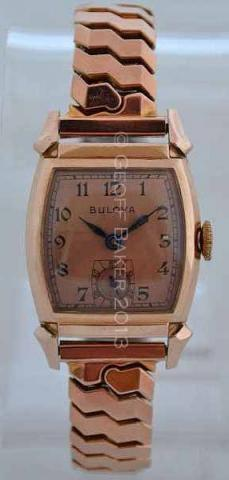 Geoffrey Baker 1942 Bulova Lieutenant Watch   11 21 2013