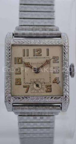 Geoffrey Baker 1929 Bulova Senator Watch 11 19 2013