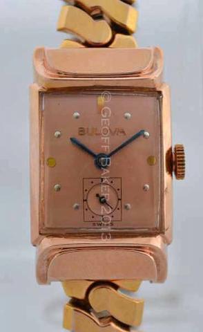 Geoffrey Baker 1947 Bulova Squadron B Watch 11 21 2013