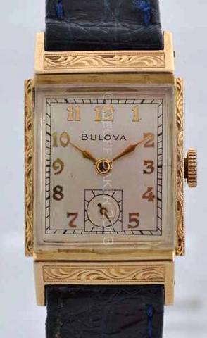 Geoffrey Baker 1949 Bulova Areonaut watch 11 21 2013