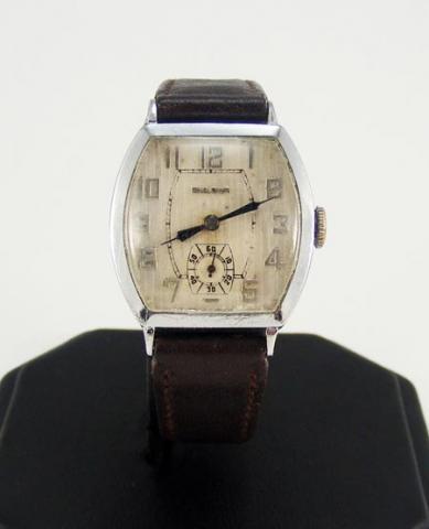 1928 Bulova Banker watch