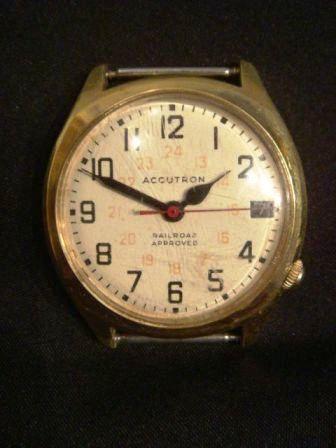Bulova Accutron Railroad Approved wristwatch
