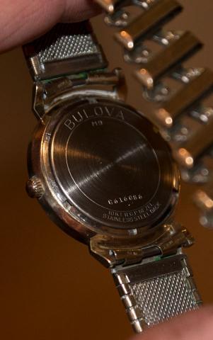 1969 Bulova watch