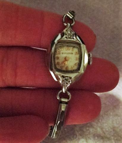 1946 Bulova Julianna watch