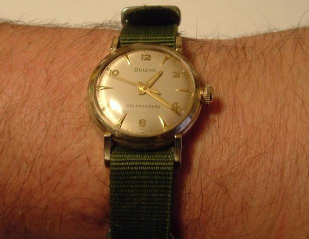Bulova 1960 watch