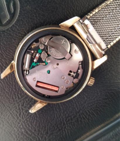 1969 Bulova Accutron Watch Inside View