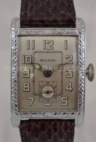 Geoffrey Baker 1929 Bulova President Watch 11/19/2013
