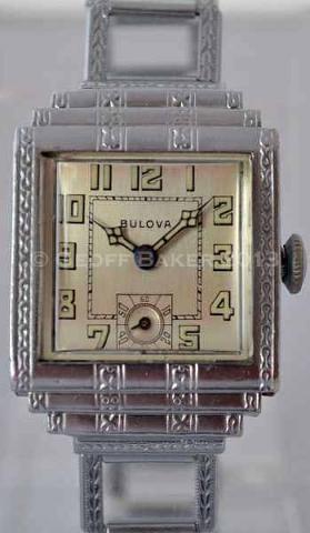 Geoffrey Baker 1930 Bulova Bourbon Watch 9 19 2011