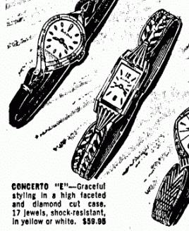[10-1964] Bulova Concerto 'E' ad snip