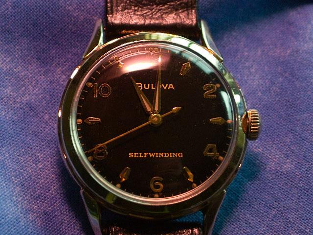 1959 Bulova Midnight Clipper watch