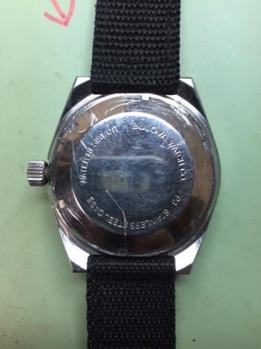 1983 Bulova Divers watch 2