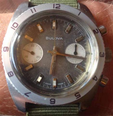 1969 Bulova Deep Sea watch