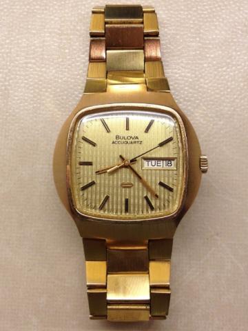 Bulova Accuquartz watch