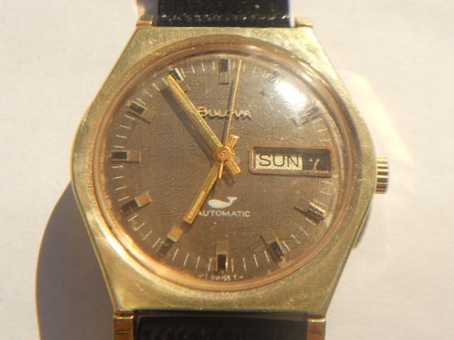 Bulova sea king 17jewel automatic watch