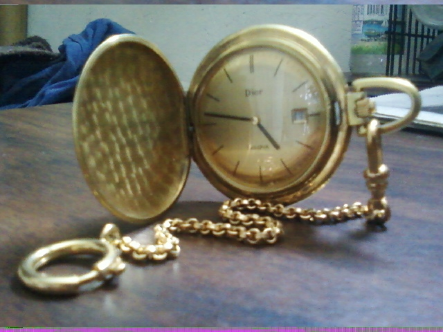 Dior Bulova Pocket watch