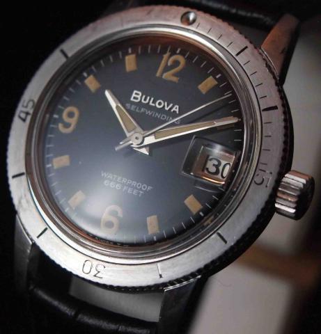 Bulova Diver 1967