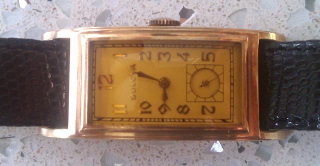 Bulova watch - Front