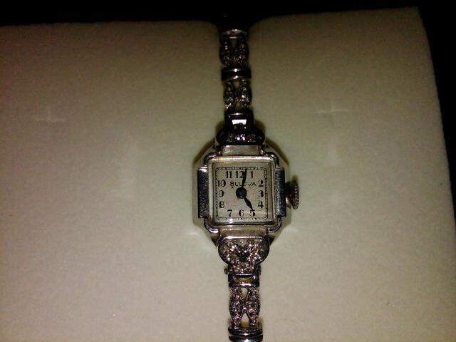 Bulova watch Vintage Diamond Ladies Watch