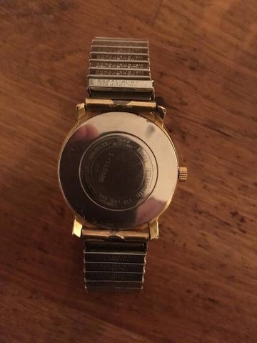 1961 Gents Round Gold Bulova watch