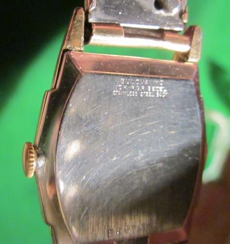 1960 Bulova watch