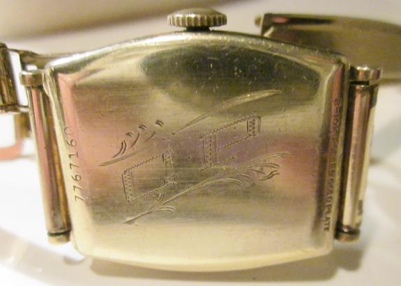 1937 Bulova watch
