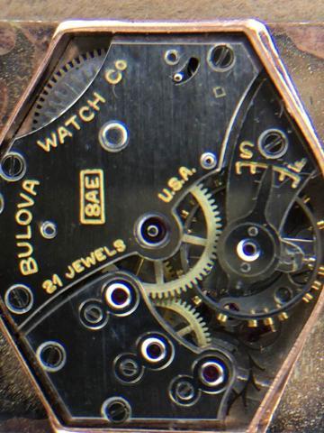 1946 Bulova watch