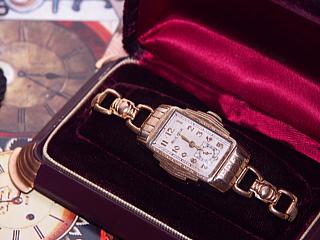 1937 Ambassador Model Bulova watch