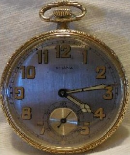 Jim Townsend 1922 Bulova 12 14 14
