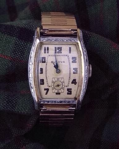 1930 Apollo Bulova watch