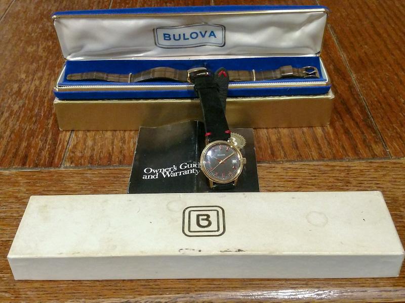 [12427-1Y-1972] Bulova watch Sea King Kit