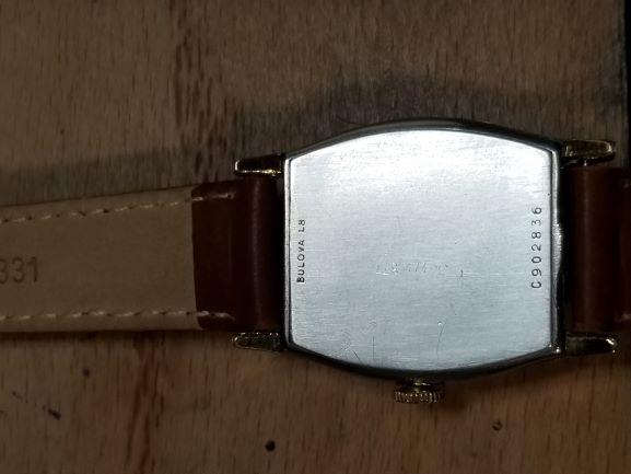 1958 Bulova watch