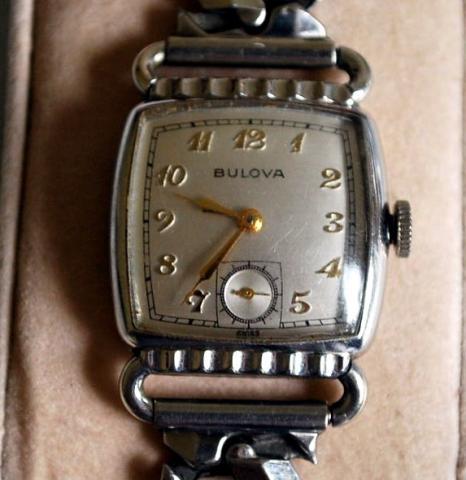 1952 bulova Director watch