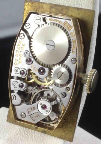 1937 Galahad Bulova watch 2